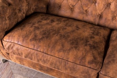 upholstered Chesterfield sofa