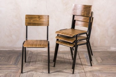 black battersea chairs