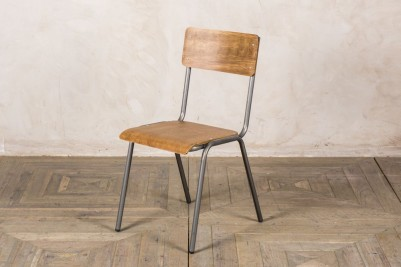 gunmetal stackable cafe chairs