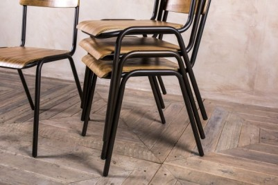 reproduction stacking chairs
