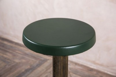 green retro stool