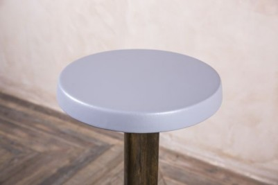 grey retro stool