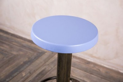 light blue bar stool