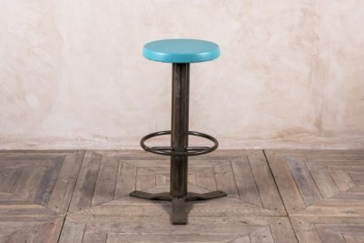 teal bar stool
