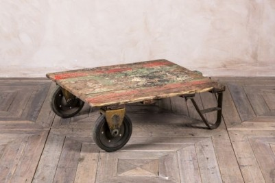 industrial living room tables