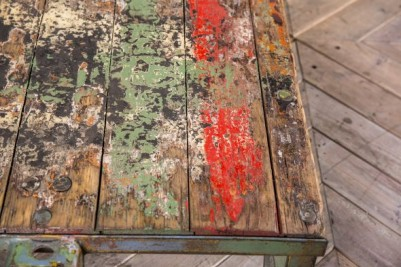 painted trolley table