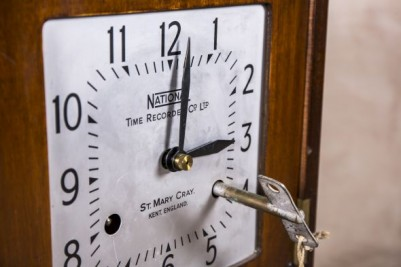 employee time recorder clock