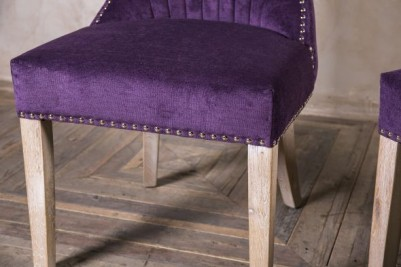 chenille dining chair
