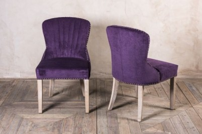 chenille dining chairs