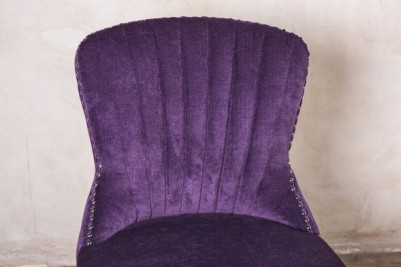 purple bar chair
