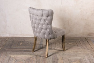 French inspired upholstered side chair