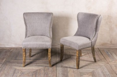french style upholstered side chairs