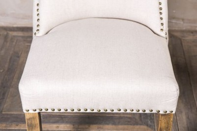 french upholstered dining chair