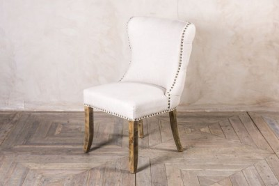 linen upholstered bedroom chair