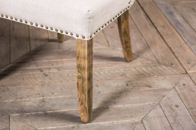 medium oak upholstered chair
