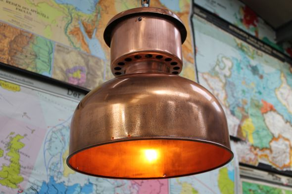 Vintage Copper Lights