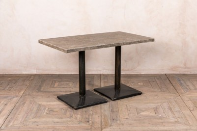 concrete style top dining table