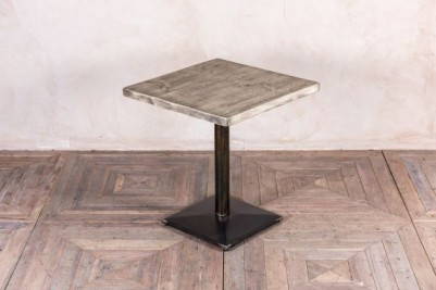 pedestal table with oiled top