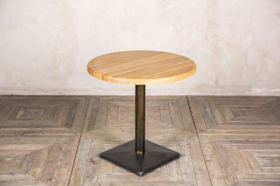 round ash wood top