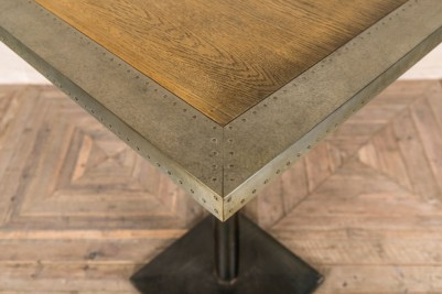 zinc edge table top