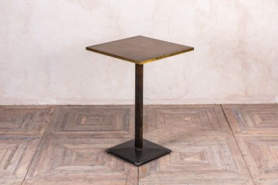 brass top poseur table