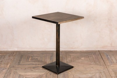 metal edged table