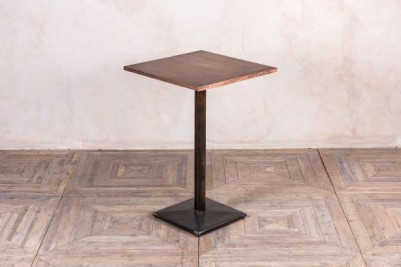 metal pedestal poseur table