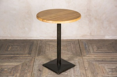 round ash poseur table