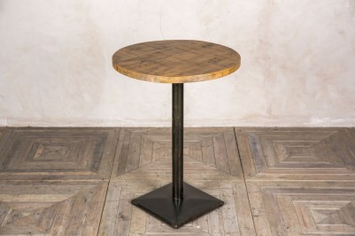 round top poseur table