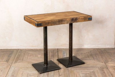 small oak top table