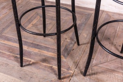 rustic cafe stool