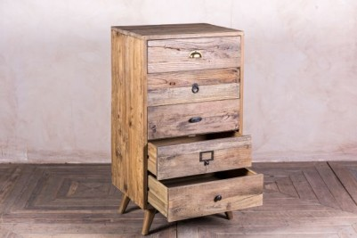 pine reclaimed drawers
