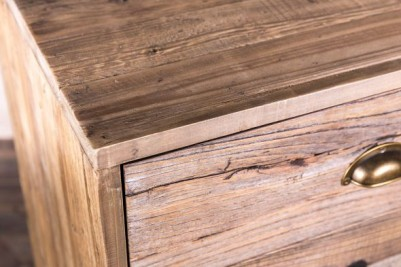 rustic reclaimed pine drawers