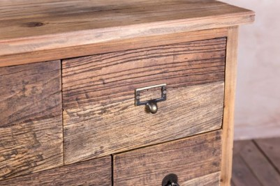 rustic reclaimed chest of drawers