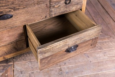 rustic recliamed drawers