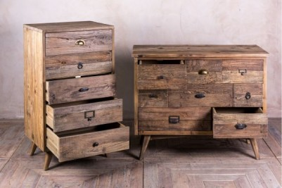 vintage style rustic chest