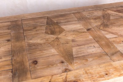 thick top wooden table