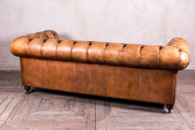 rustic leather sofa
