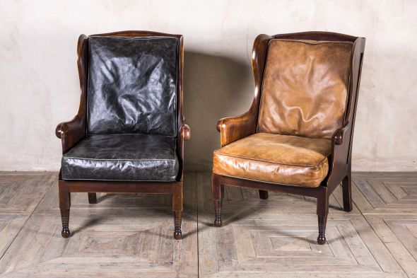 Stapleford High Back Wing Armchair Range