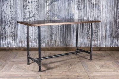 copper bar height table