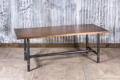 copper dining height table
