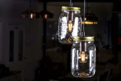 mason jar feature light