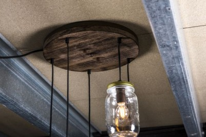 multiple bulb hanging light