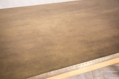 brass pine table