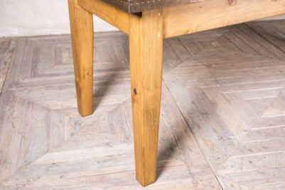 thick wooden base table