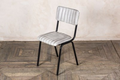 vintage white dining chair