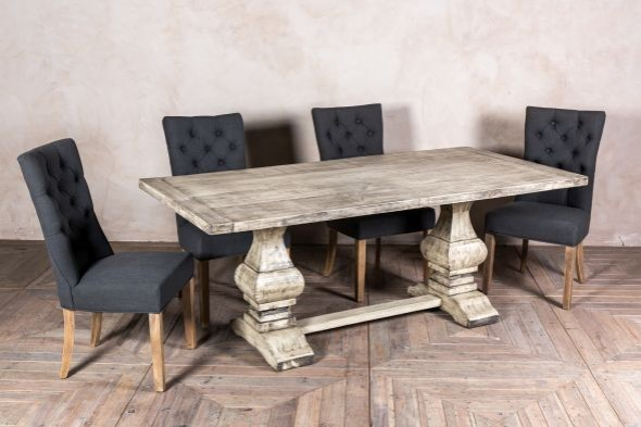 Windsor Bespoke Double Pedestal Table With Oiled Finish