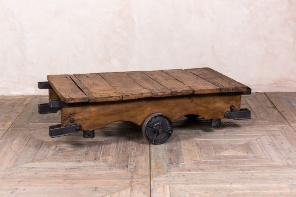 Slingsby Wooden Trolley Coffee Table