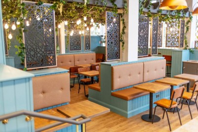 Photo Credit: Confetti Constellations for Goldsmith Cafe - arlington restaurant seating