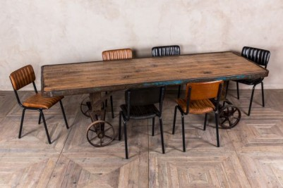 leather restaurant furniture